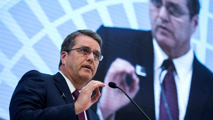 El director de la OMC se muestra muy cauto sobre retórica anti-libre comercio de Trump