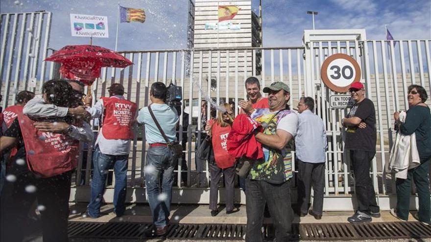 CGT presenta demanda colectiva contra el ERE de RTVV en la Audiencia Nacional