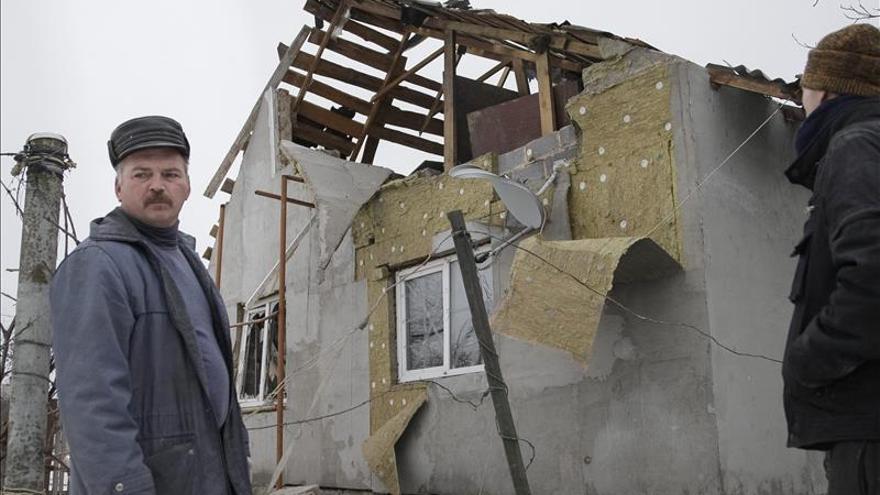 Separatistas prorrusos denuncian el recrudecimiento de los bombardeos en Donetsk