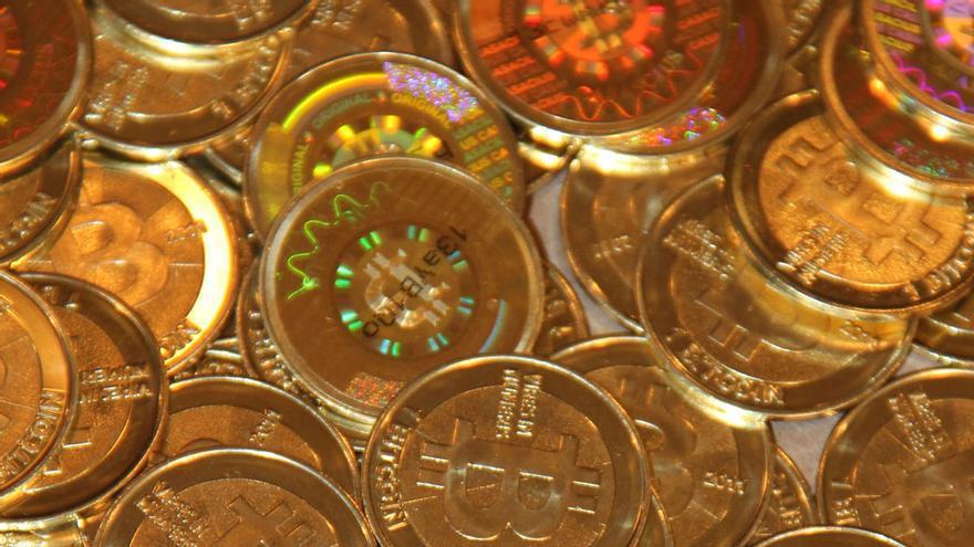 Bitcoin físico fabricado por Casascius