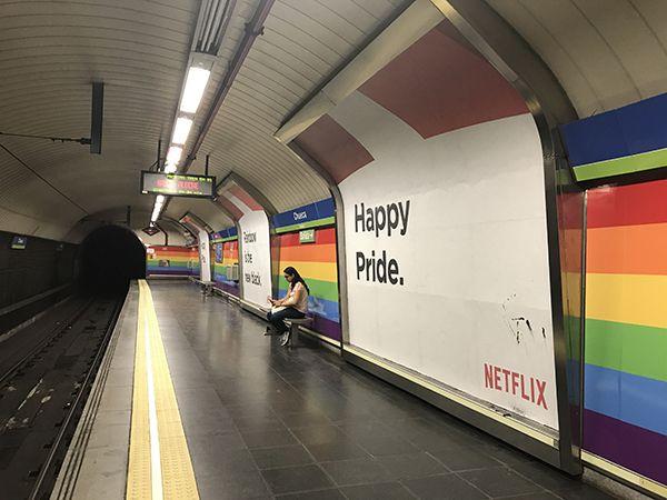 Nueva campaña de Netflix para el World Pride 2017 | Fotografía: Somos Chueca