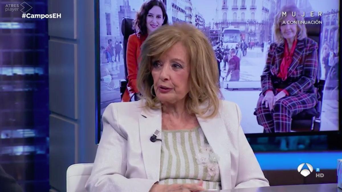 María Teresa Campos, en 'El Hormiguero'