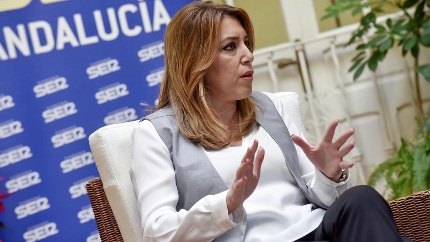 """Susana Díaz pide a Rajoy que a principios de enero presente el nuevo modelo de financiación porque """"ya no tiene excusas"""""""