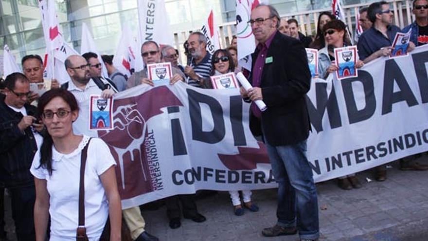 Concentración en apoyo de Matilde Castilla / Foto: el CRisol de Ciudad Real