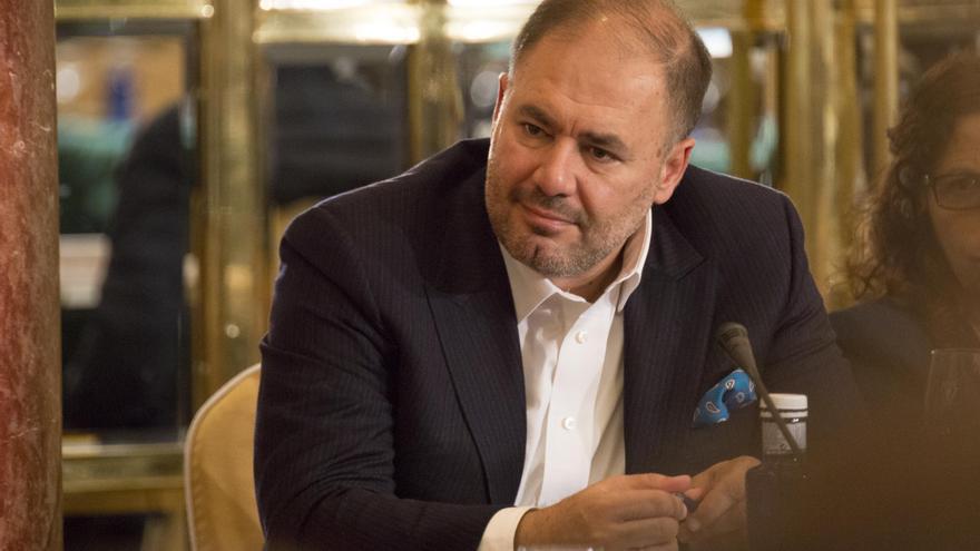 Wadah Khanfar, exdirector de Al Jazeera y presidente de Common Action Forum, durante el foro CAF2017  - Los límites de la desigualdad: buscando una sociedad sostenible.