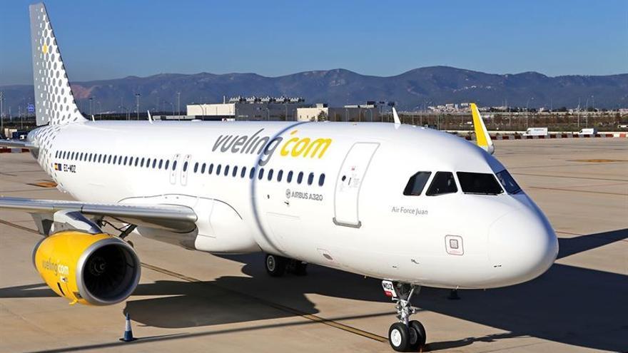 Avión de la compañía Vueling