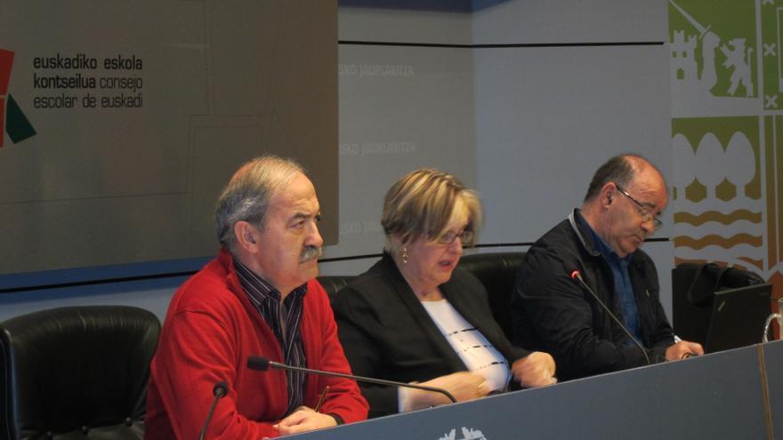 El Consejo Escolar  presenta el informe sobre la Educación vasca entre 2010 y 2012