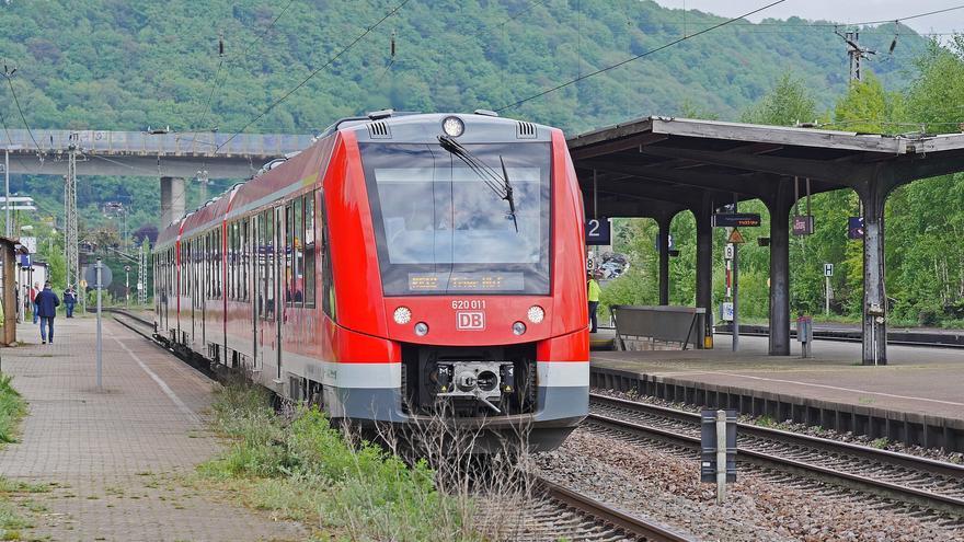 Un tren de Deutsche Bahn