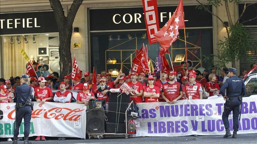 La Audiencia Nacional declara nulos los despidos de Coca-Cola
