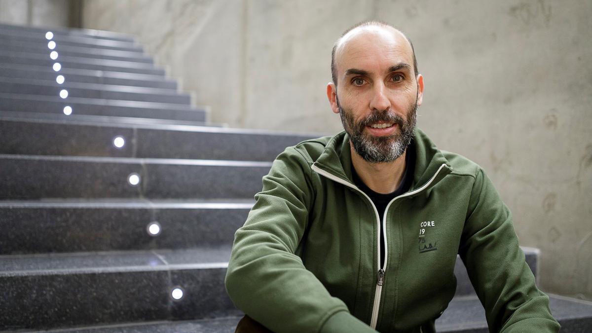El cineasta David Baute. EFE/Ramón de la Rocha/Archivo