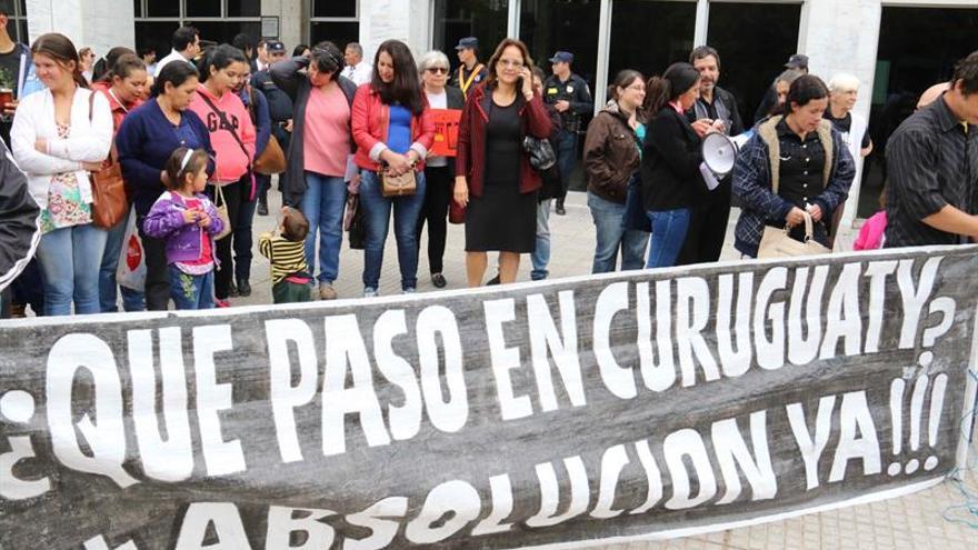 Termina en Paraguay el juicio por la masacre que causó el cambio presidencial en 2012