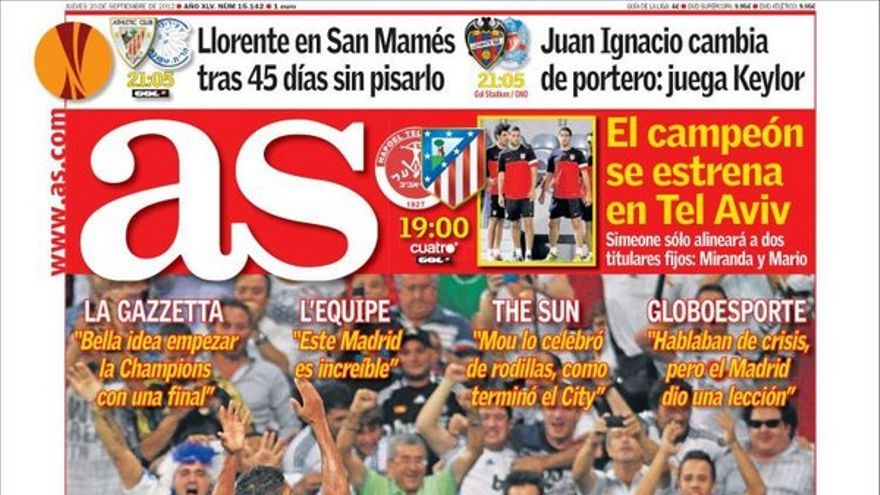 De las portadas del día (20/09/2012) #10