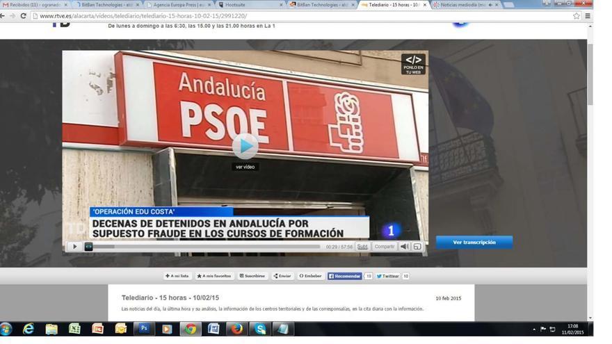 Operación Edu en TVE