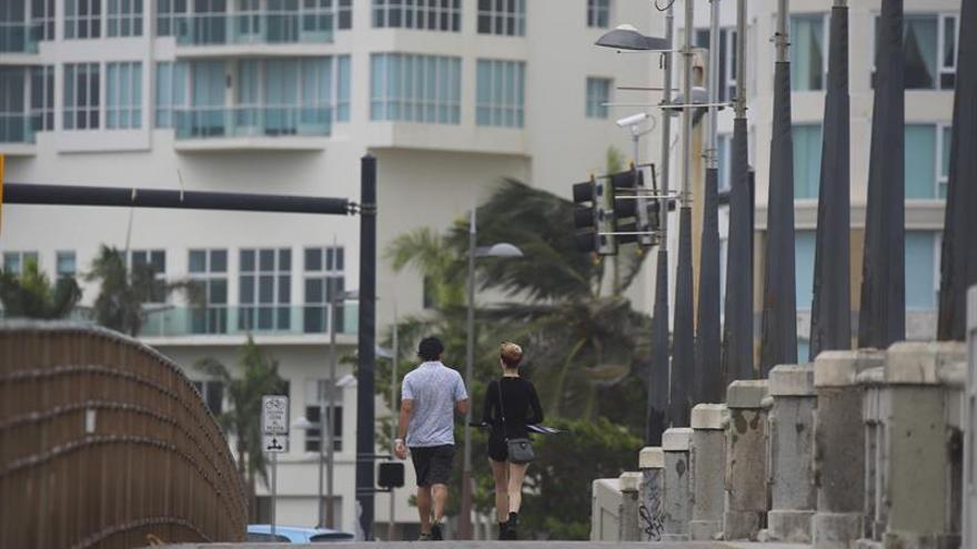 El ojo del huracán María ya está en la isla puertorriqueña de Vieques