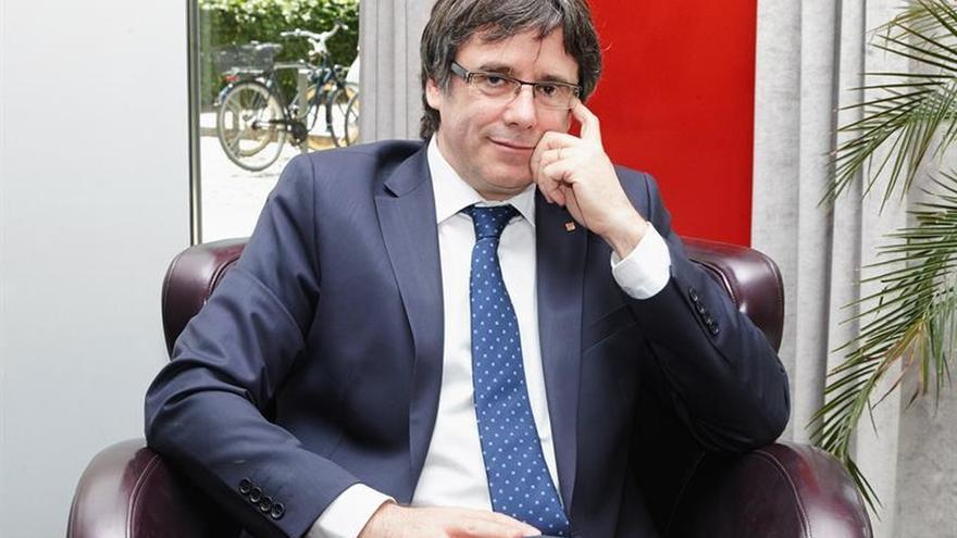 """Puigdemont exige excarcelar a los presos porque la rebelión es """"inexistente"""""""