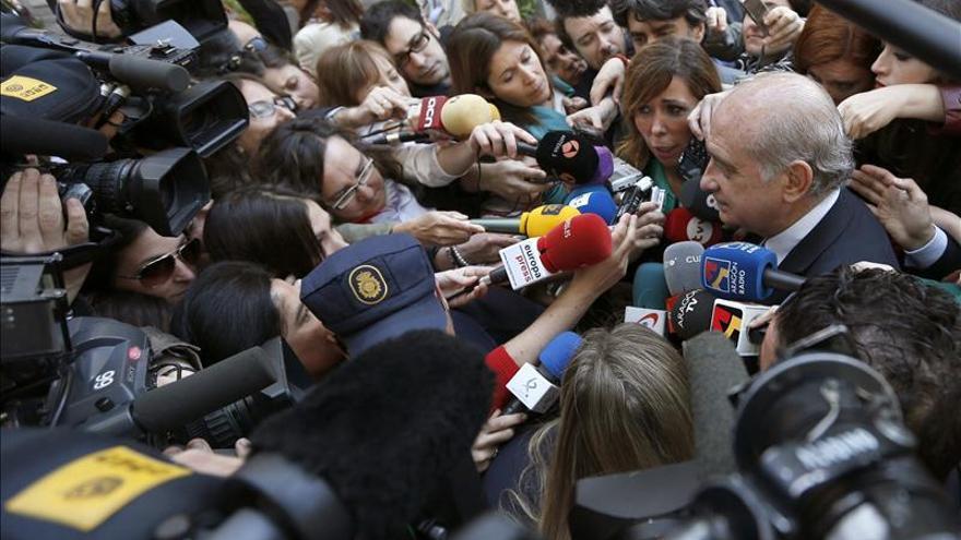 """Fernández Díaz, sobre los escraches afirma que """"ningún derecho es absoluto"""""""