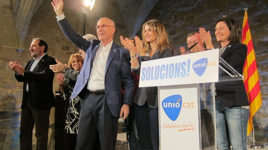 Duran (Unió) pide el voto para resolver el desencuentro entre Cataluña y España
