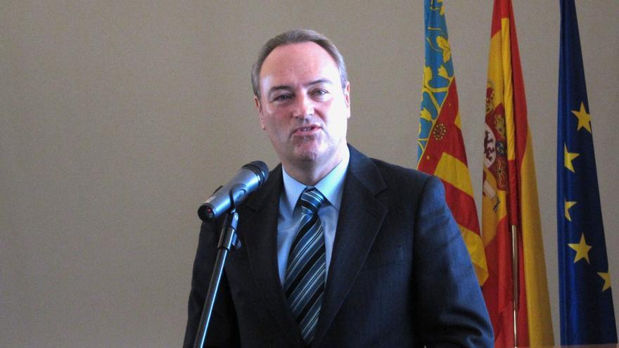 Alberto Fabra declara que percibió 71.505,75 euros netos de salario en 2012