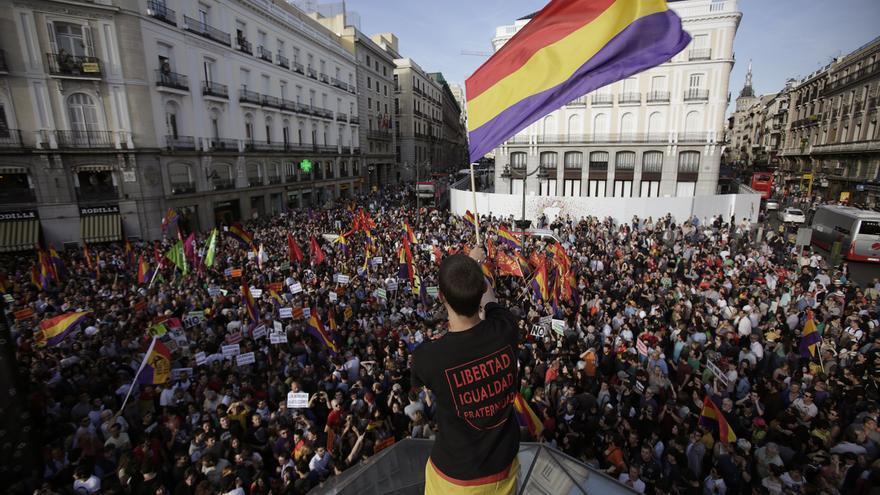Concentración 3ª República, 2 junio / Olmo Calvo