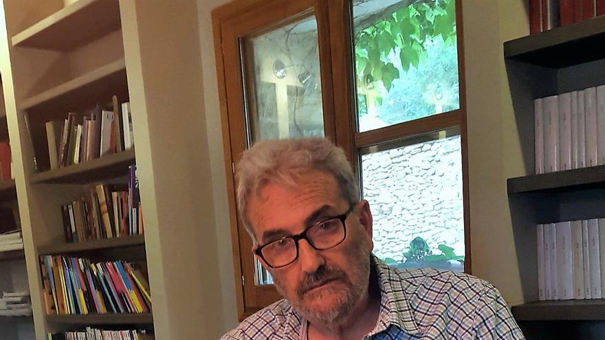 El presidente de la Asociación Catalana de Expresos Políticos del Franquismo, Carles Vallejo.