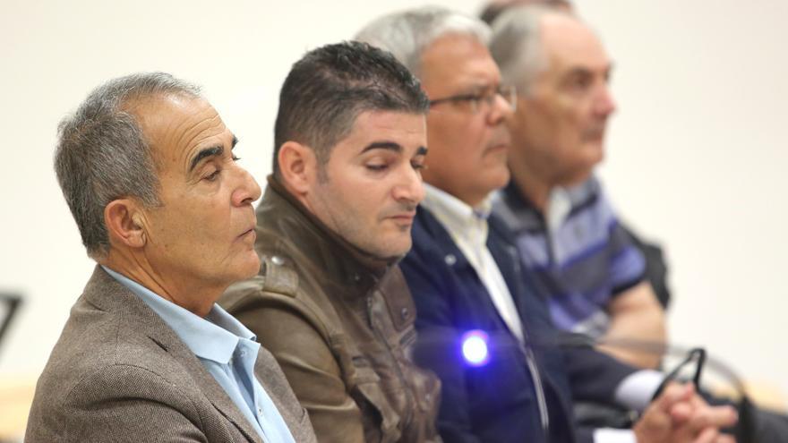 El exconcejal de San Bartolomé de Tirajana Francisco Guedes (Pacuco) en el juicio por el caso Paraíso