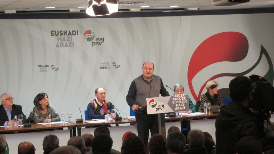 PNV desea abordar tras las locales el nuevo estatus con los partidos vascos, y tras las generales con Gobierno central