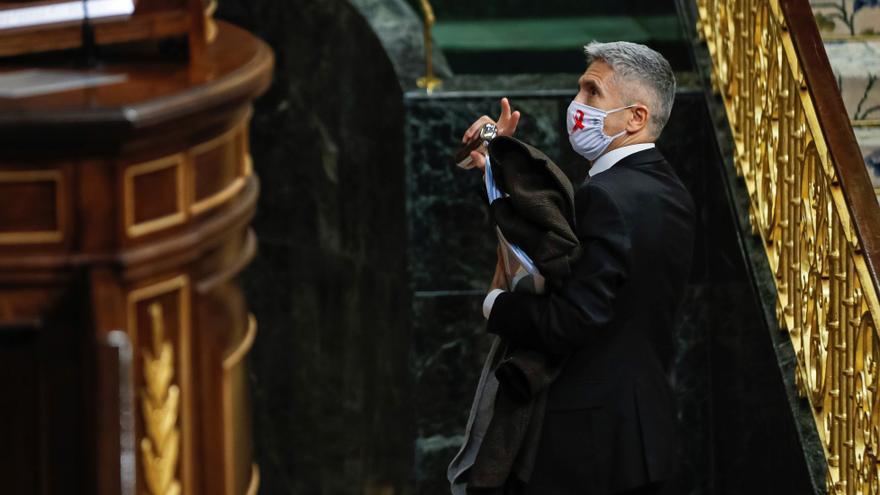 Marlaska ve a Cs de delegado de la derecha en las críticas al traslado de etarras