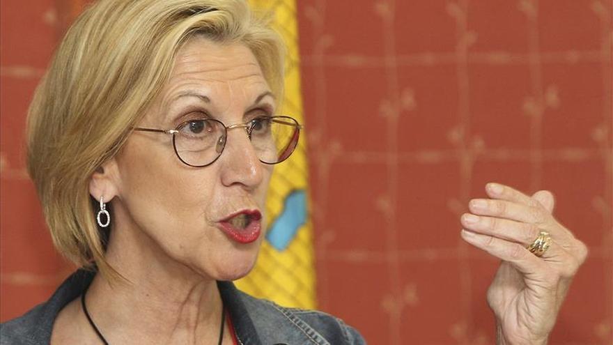 Rosa Díez evita aclarar si UPyD está estudiando expulsar a Irene Lozano