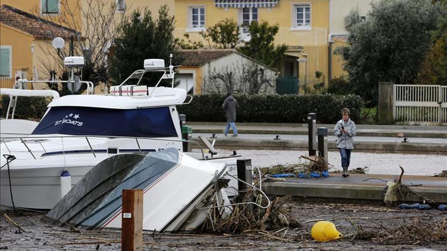 Las inundaciones en el sur de Francia obligan a evacuar a cientos de personas