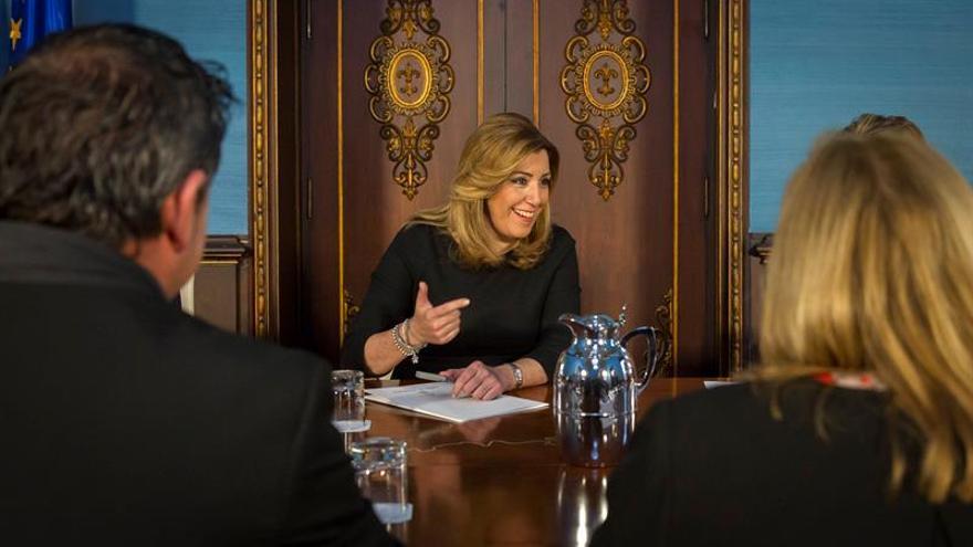 Susana Díaz, citada el 31 de mayo en la comisión de los fondos de formación