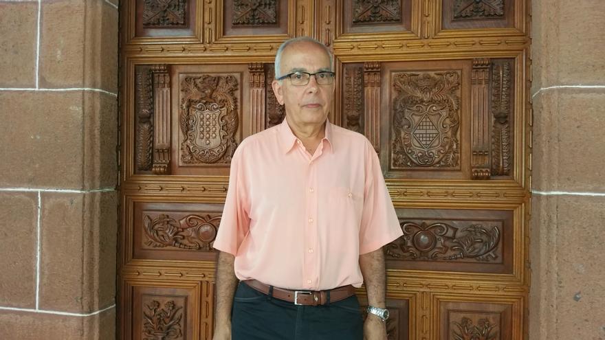 José Manuel Méndez es catedrático de Análisis Matemático de la ULL. Foto: LUZ RODRÍGUEZ.