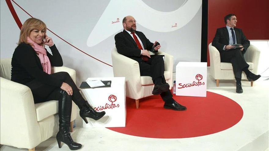 Martin Schulz dice que su primera prioridad si es presidente será el paro juvenil