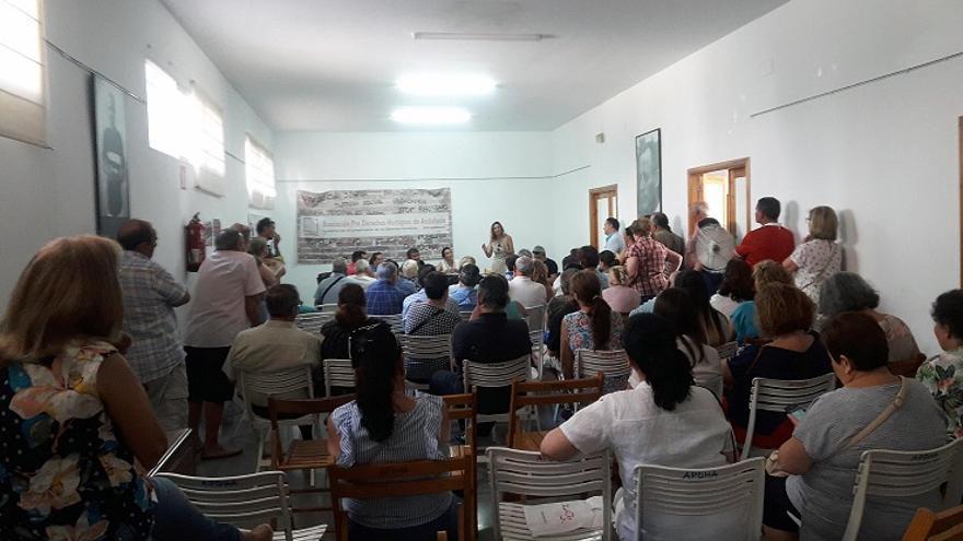 reunión de los afectados de Idental en nuestra sede de Sevilla.