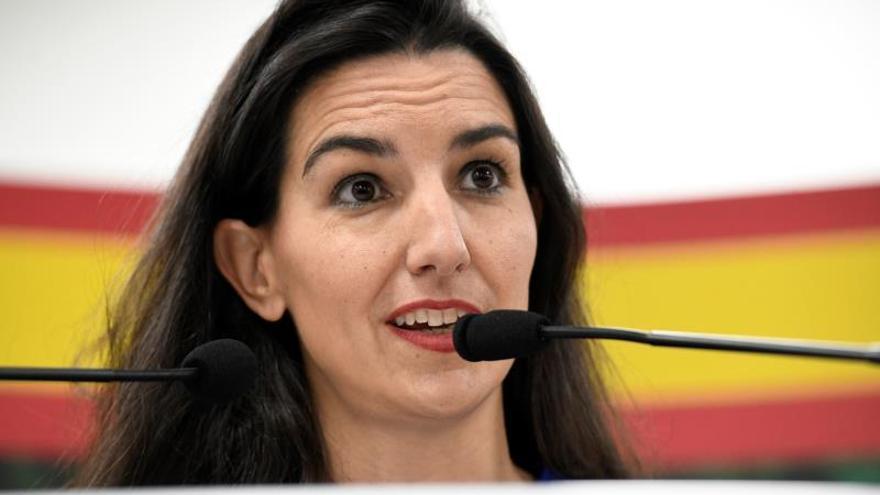 La portavoz de Vox en el Parlamento madrileño, Rocío Monasterio.