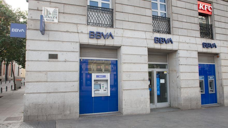 Una oficina de BBVA.