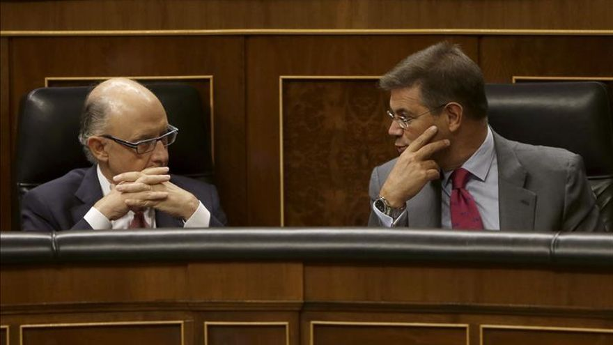 Catalá: Proceso judicial dirá origen lícito o ilícito del patrimonio de Rato