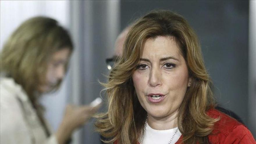 Susana Díaz declina hablar sobre el fichaje de Lozano