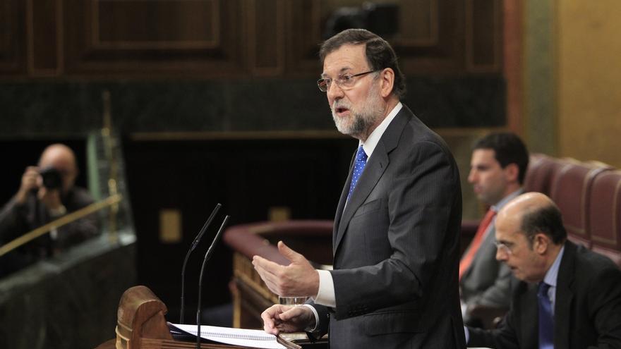 Rajoy en el Congreso de los Diputados / EFE