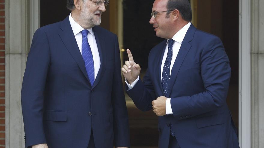 El presiente de Murcia y Rajoy coinciden en que la solución al problema del agua en España es un gran pacto nacional