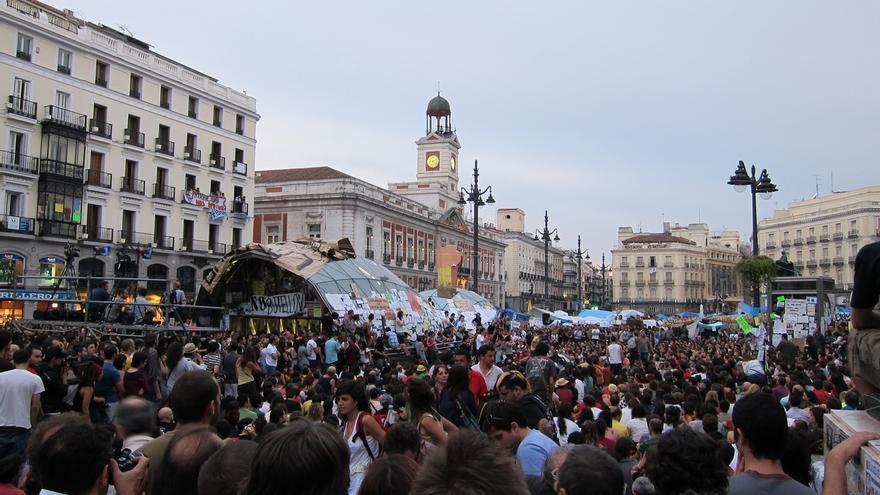 La PAH exige a Podemos e IU que no se apropien del 15M en campaña y recuerda que el PSOE lo reprimió