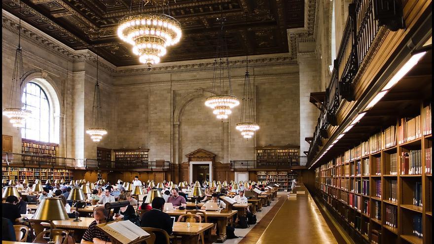 La Biblioteca pública de Nueva York es una de las favoritas de los grandes literatos de todo el mundo