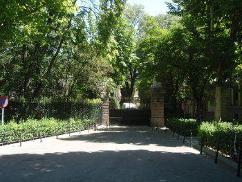 El jardín de palacio da intimidad   L.C.