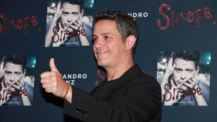 """Alejandro Sanz rinde """"homenaje a la música por el placer de la música"""""""