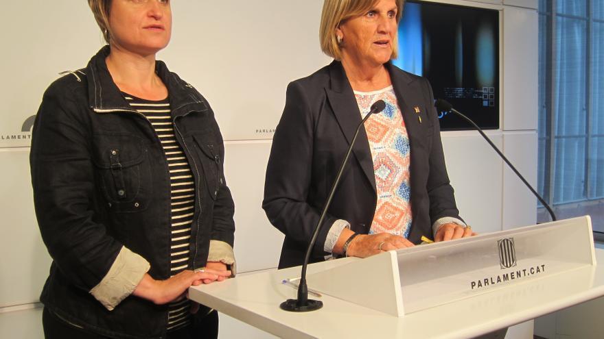 La presidenta del Parlamento catalán pide objetividad al TC y afirma que la declaración de soberanía sigue vigente