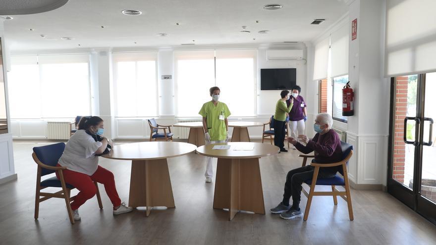 Una residencia de ancianos en Andalucía