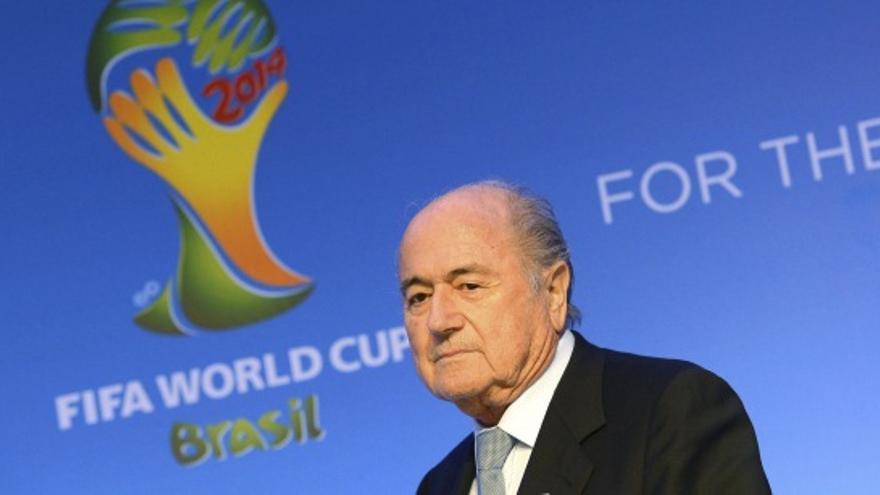 El presidente de la FIFA, Joseph Blatter. / Efe