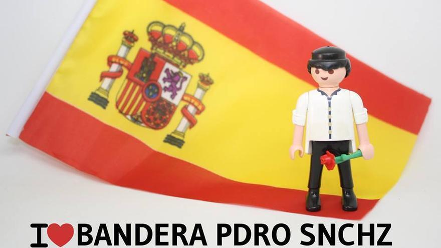 I love bandera Pdro Snchz