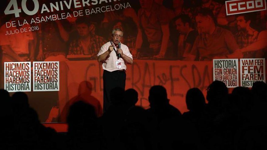 "Fernández Toxo insta a ""no dar por hecho un gobierno continuista"" en España"