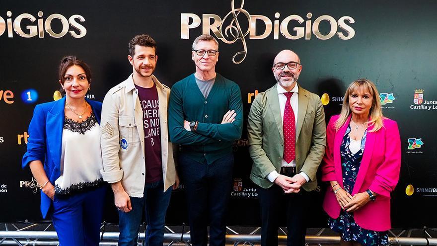 Ana Rivas, Andrés Salado, Nacho Duato, Javier Ortega y Toñi Prieto