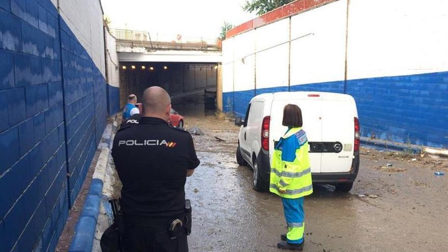 Primera víctima de la lluvia en Madrid: muere ahogado en un túnel de Coslada